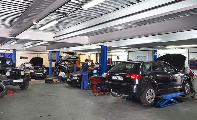 marketing strategy for a car workshop